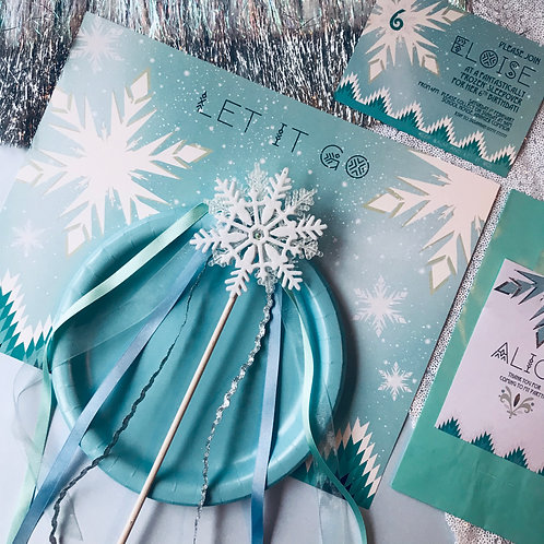 Snowflake wand | Frozen party