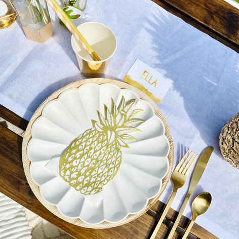 Luxe picnic - place setting