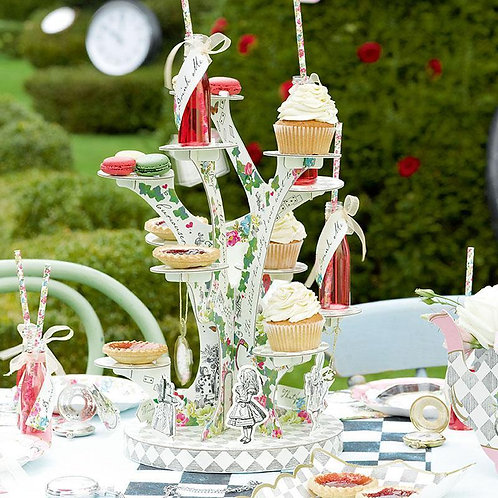 Alice in Wonderland cake stand