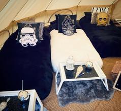 Star Wars sleepover tent