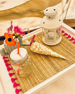 Llama Fiesta bedside table