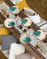 Glam Safari luxe picnic