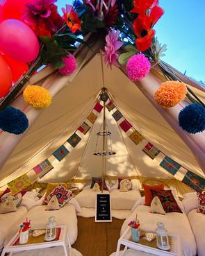 Llama Fiesta inside