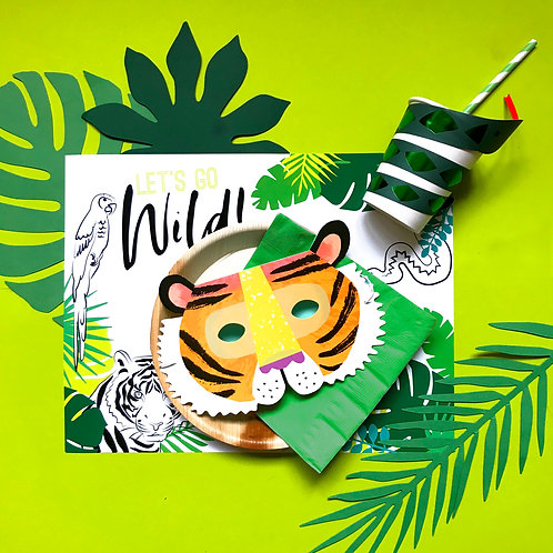 LET'S GO WILD - party box standard