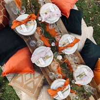 Forest Chic luxe picnic