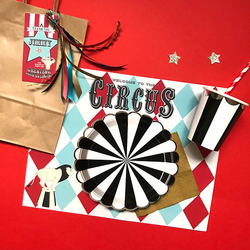 VINTAGE CIRCUS - party box standard
