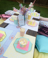 Pastel picnic with rose gold details