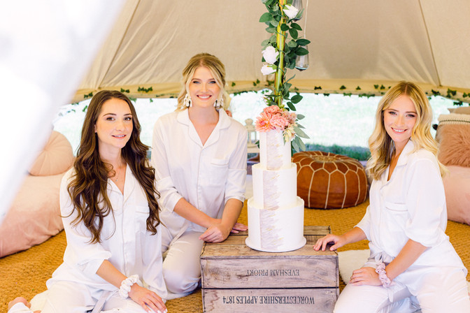 Wedding chill out tent