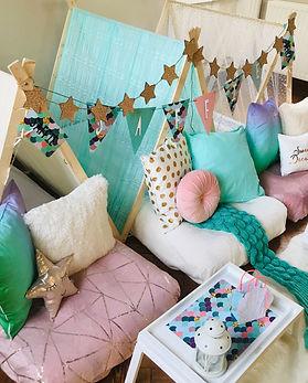 Mermaids sleepover camp
