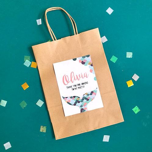 MERMAIDS- party bags