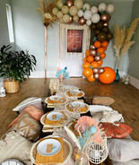 Ibiza Vibes picnic set up