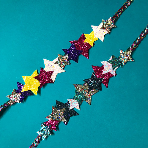 UNICORNS - Rainbow sparkle headband