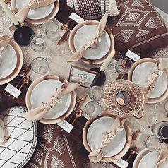 Boho Chic luxe picnic