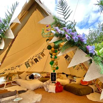 Woodland Adventure bell tent