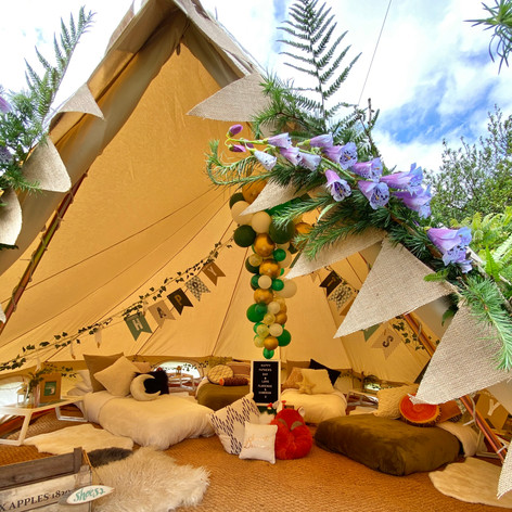 Woodland Adventure bell tent