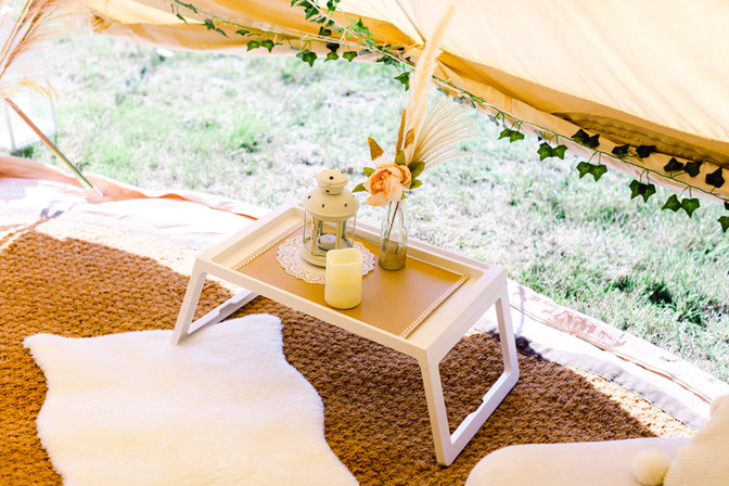 Chill out tent details