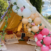 Enchanted Woodland bell tent