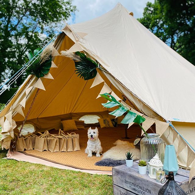 Baby Shower bell tent
