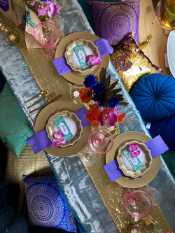 Arabian Nights luxe picnic
