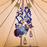 Cosmic bell tent