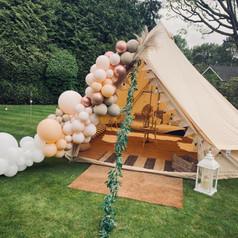 Boho Chic bell tent