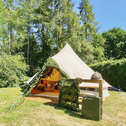 Base Camp bell tent