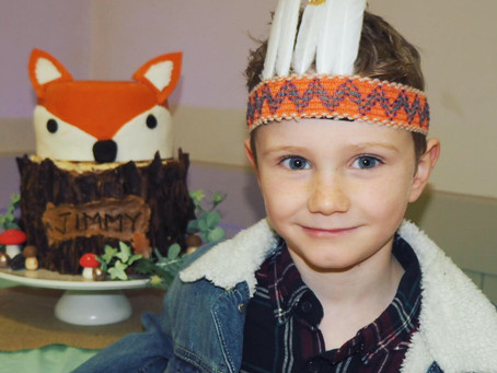 'Foxy' party for the boy