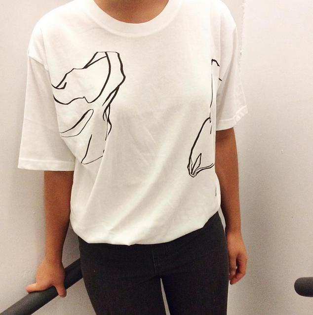 """Plastic Bag"" T-shirt ver.1"
