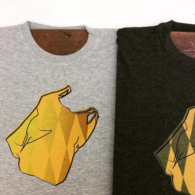 """Plastic Bag"" T-shirt ver.2"