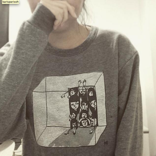 """""""Too Much In My Mind"""" Sweatshirt"""