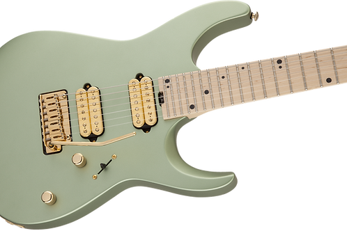 Charvel Angel Vivaldi Signature DK24-7 Nova, Maple Fingerboard, Satin Sage Green