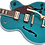 Thumbnail: Gretsch G2410TG Streamliner Hollow Body Single-Cut with Bigsby, Ocean Turquoise