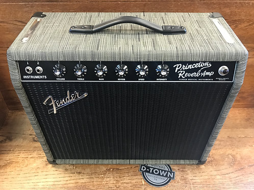 Fender Limited FSR 65 Princeton Reverb Chilewich Charcoal Creamback Celestion