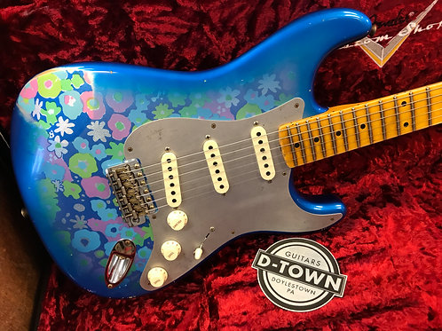 2021 Fender Custom Shop Ltd El Diablo Strat Relic Blue Floral