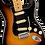 Thumbnail: Fender American Ultra Luxe Stratocaster, Maple Fingerboard, 2-Color Sunburst