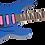 Thumbnail: Jackson X Series Dinky DK3XR HSS Laurel Fingerboard Cobalt Blue