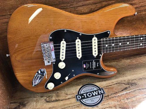 2021 American Pro II Stratocaster Natural Roasted Pine rosewood