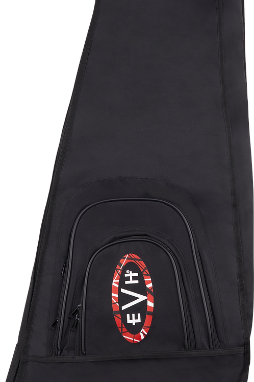 EVH® Wolfgang/Striped Series Economy Gig Bag, Black