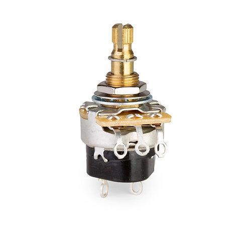 Gibson PPAT-520 500k OHM AudioTaper Potentiometer ShortShaft