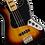 Thumbnail: Squier Classic Vibe '70s Jazz Bass Maple Fingerboard 3TS sunburst