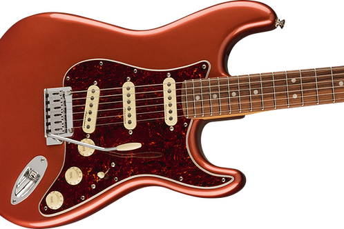 Fender Player Plus Stratocaster Pau Ferro Fingerboard Aged Candy Apple Red