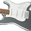 Thumbnail: Squier Affinity Series Stratocaster Laurel Fingerboard Slick Silver