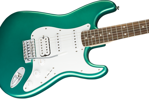 Squier Affinity Series™ Stratocaster® HSS, Laurel Fingerboard, Race Green