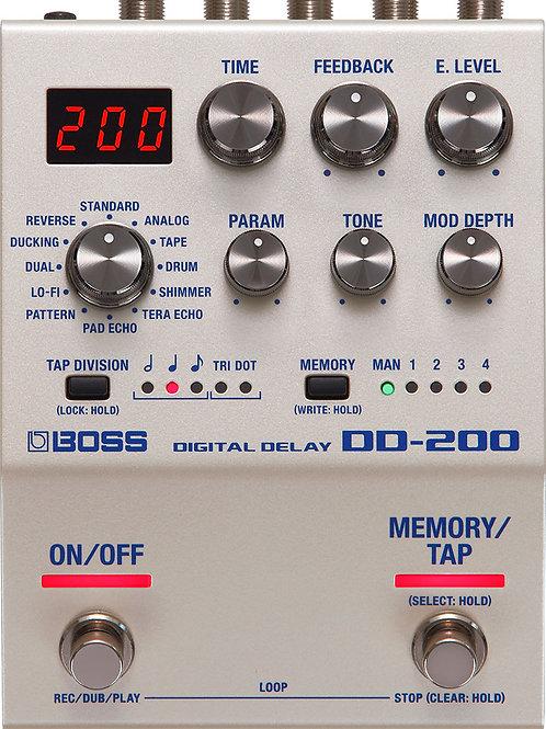 BOSS DD-200 Digital Delay Pedal