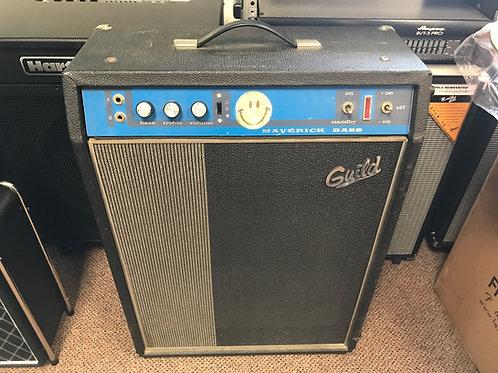 1970 era Guild Maverick Tube Bass Amp