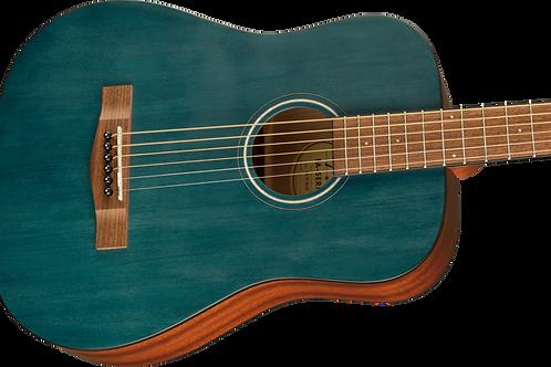 Fender FA-15 3/4 Size Steel-String Acoustic Guitar Blue with Gig Bag