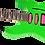 Thumbnail: Jackson X Series Dinky DK3XR HSS Laurel Fingerboard Neon Green