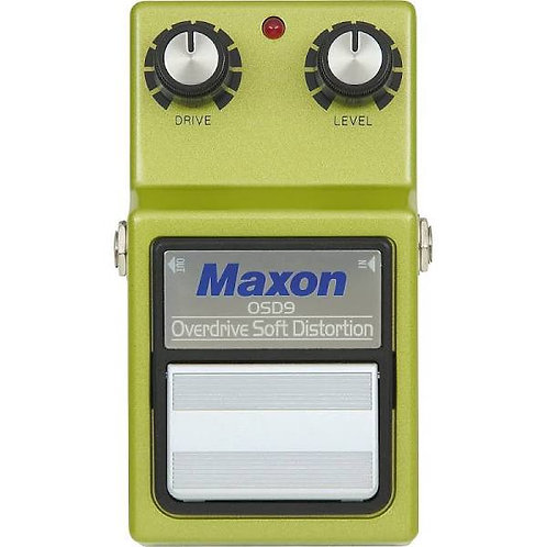Maxon OSD9 Overdrive Soft Distortion Pedal