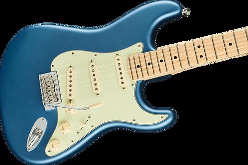 Fender American Performer Stratocaster Maple Fingerboard Satin Lake Placid Blue