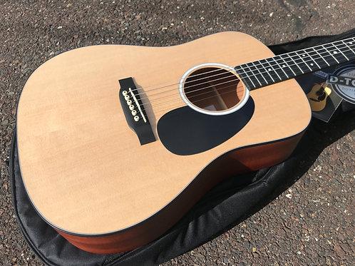 C. F. Martin DJr-10 Acoustic Guitar Natural Sitka Spruce